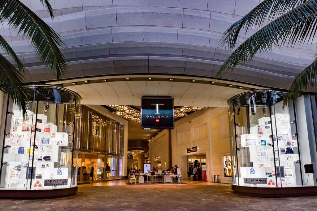 Exterior image of T Galleria