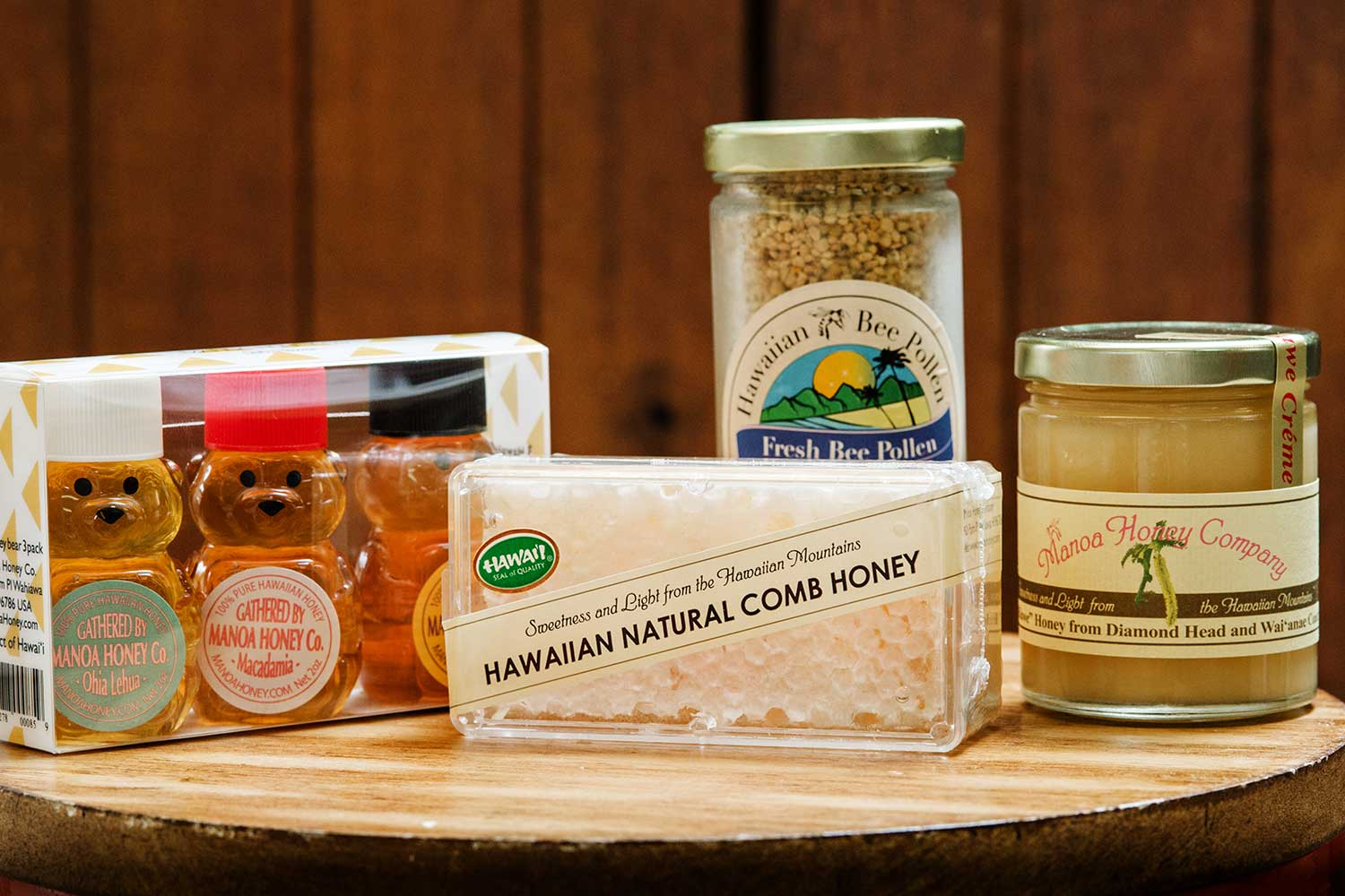 4 items from Manoa Honey Company