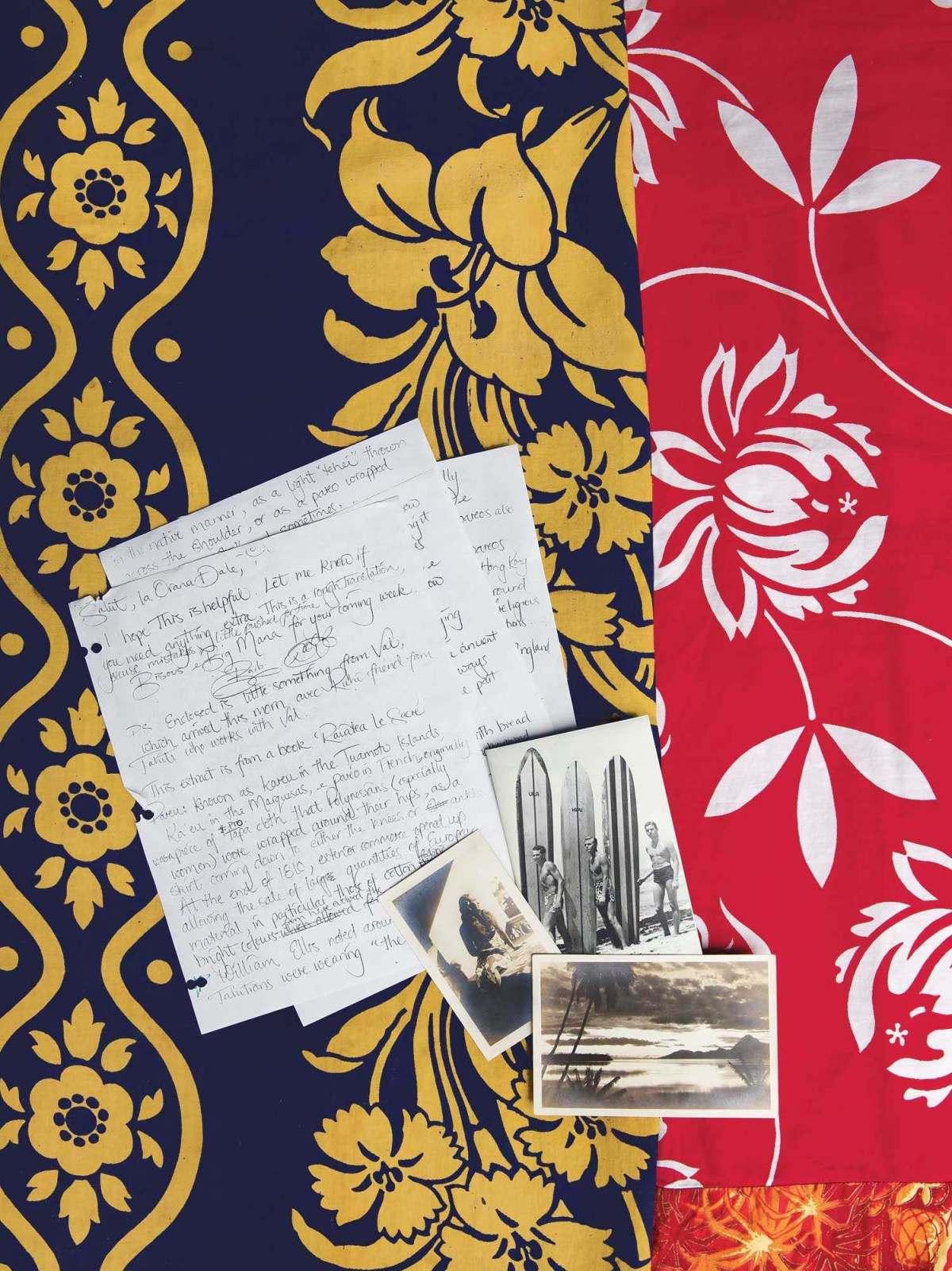 デール・ホープさんへの手紙と写真