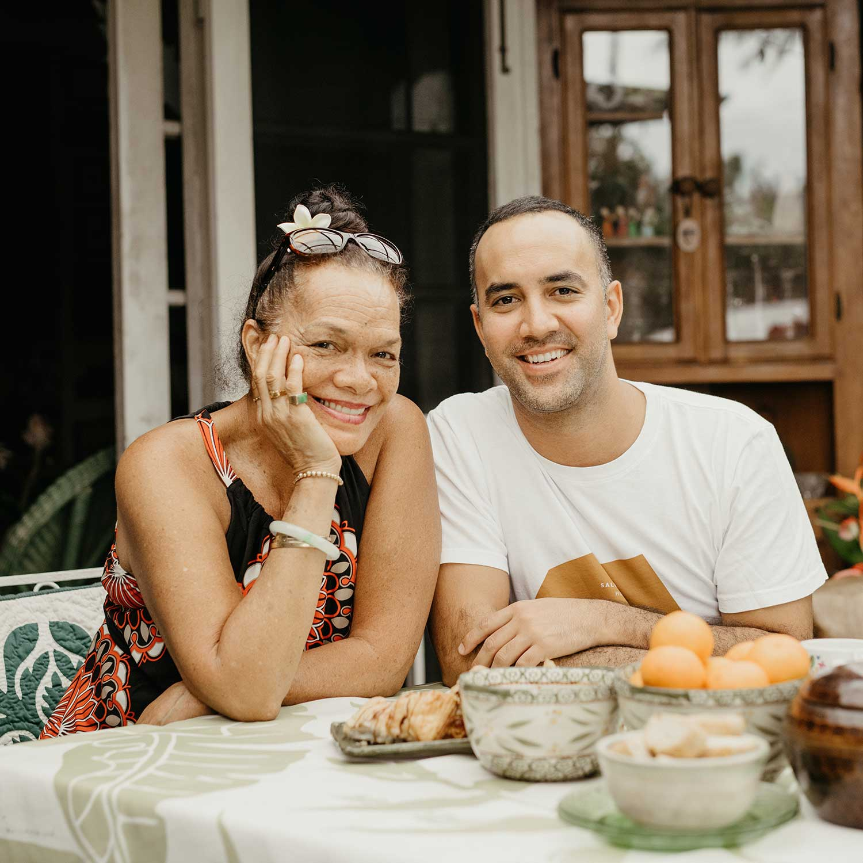 Mihana (left) and Nāpali Souza (right)