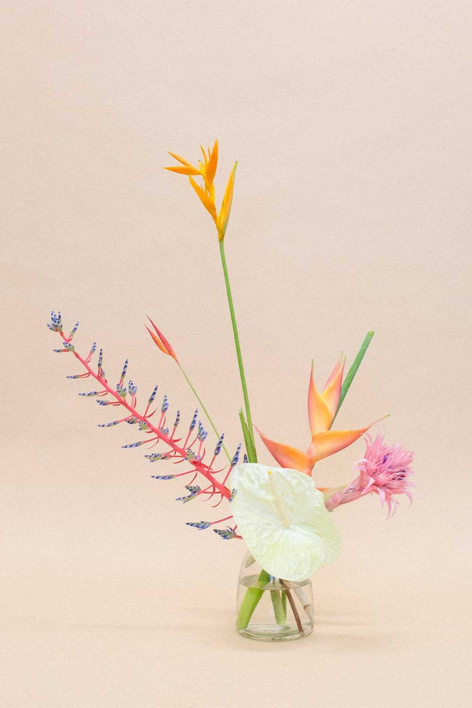 A simple flower bouquet