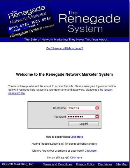 TheRenegadeSystem-login
