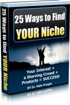 25 Ways to FInd Your Niche