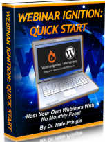 Webinar Ignition - a Complete Webinar System - Book Cover