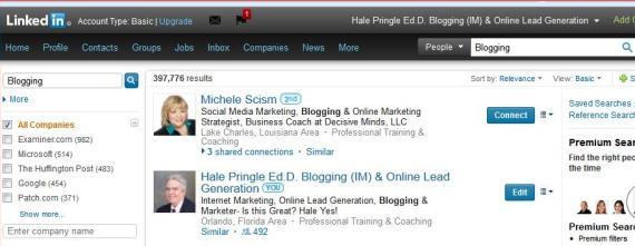 LinkedIn Ranking