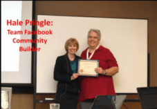 Ann Sieg and Hale-Team Builder Award