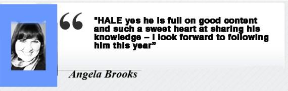 Angela Brooke Testimonial for Dr. Hale Pringle