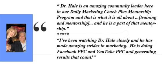 Ann Sieg - Testimonial for Dr Hale Pringle