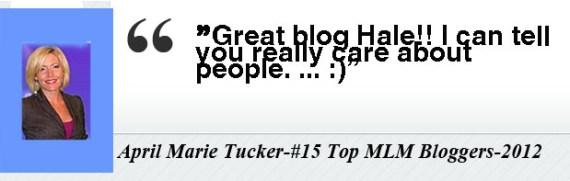 April Marie Tucker- Testimony