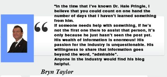 Bryn Taylorr- Testimony