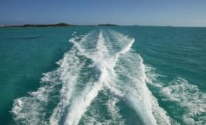 Wake Behind The Boat