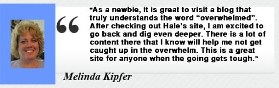 Melinda Kipfer- Testimony