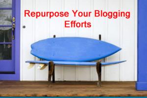 Repurpose MLM Blogging Efforts