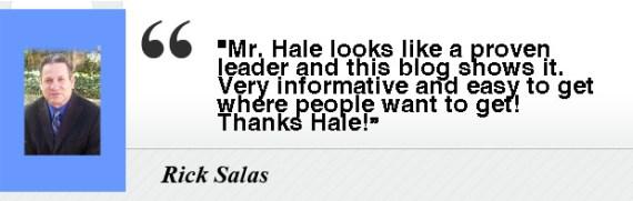 Rick Salas- Testimony