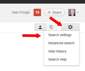 Facebook-Marketing-Google-Search-Settings