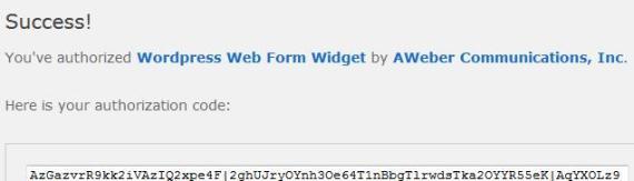 ID code from WordPress