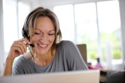 Talking on the phone on Skype is easier