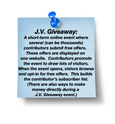 JV GIveaway Sticky Note plus tack-13559398_m copy