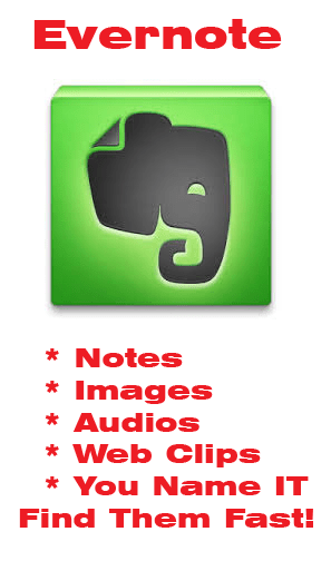 Organize Notes - Evernote