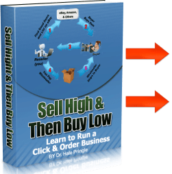 Sell High Then Buy Low eBook Cover w arrows