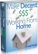 Make Decent Money Working From Home Ebook Cover