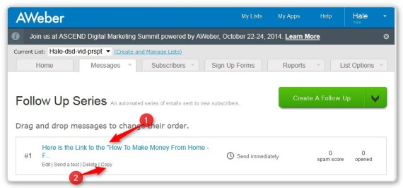 List Building With LeadPages -Copy First Email