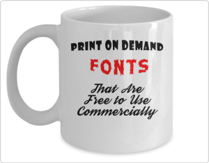 Free to Use Commercially fonts