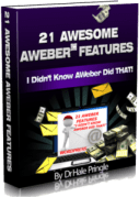 21 Aweber tips and hackcs