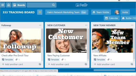 Track Prospects with TRELLO