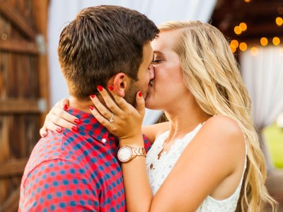 Hannah + Taylor || Rustic & Romantic Barn Proposal || Southern Illinois