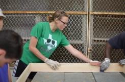 waterproofing our sandbox