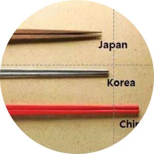 各國筷子文化介紹-中國、日本、韓國 之 筷子文化大解析
