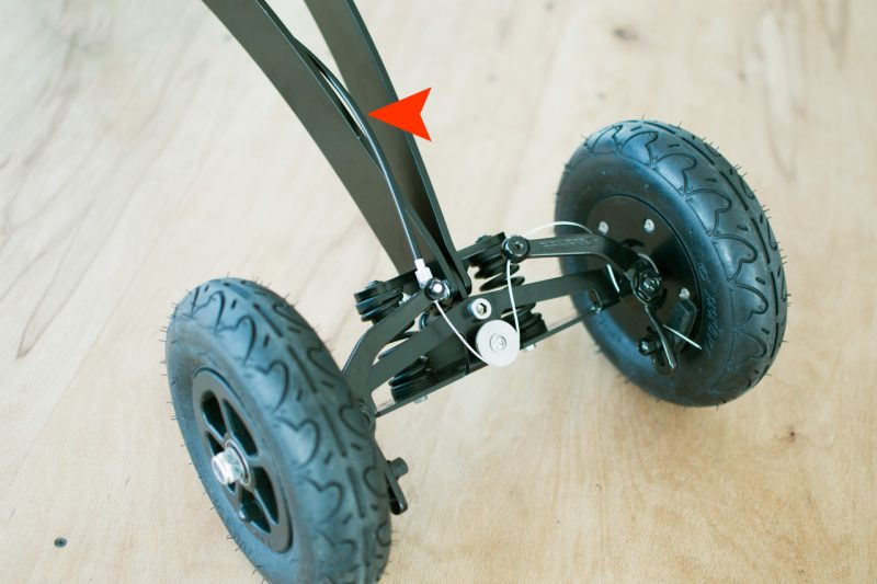 Halfbike 2 - Cable Positioning   Halfbike