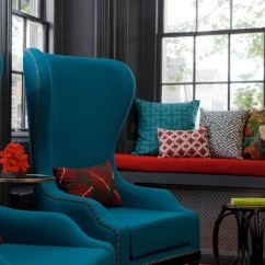 Gray And Red Living Room Decorating Ideas Small Diy Decor Inspiration In Teal Half Classic Six Although Not Quite My Style The Are Fabulous Against Dark