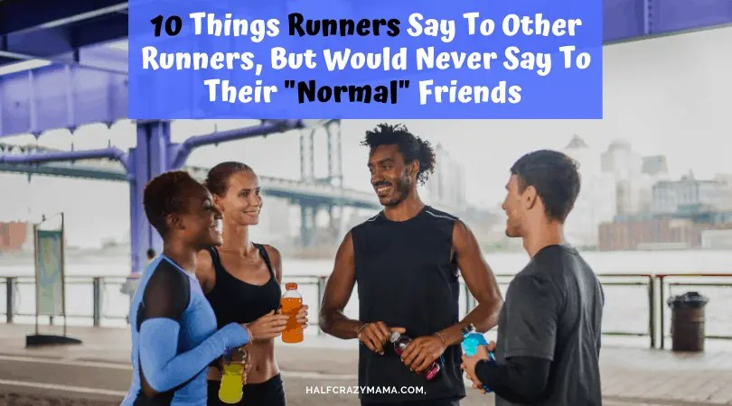 runners talking