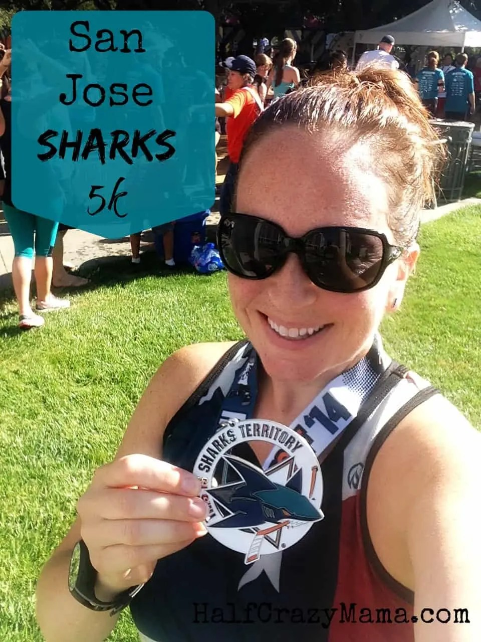 San Jose Sharks 5k titile