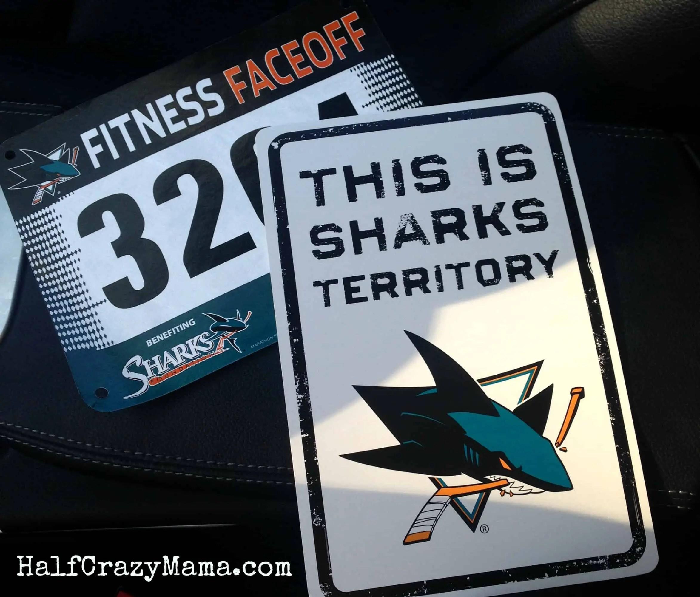 Sharks 5k bib