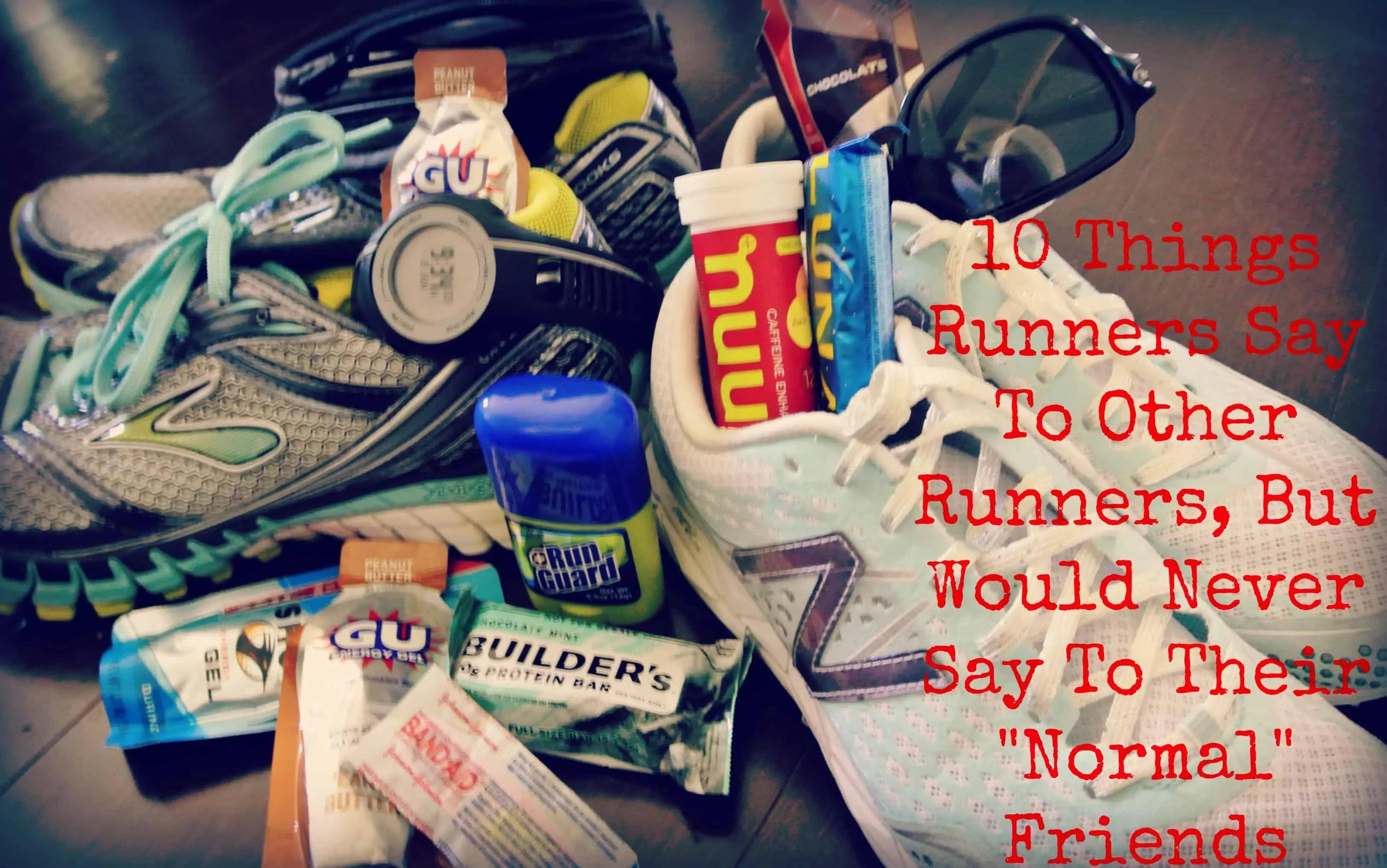 runners 10 things