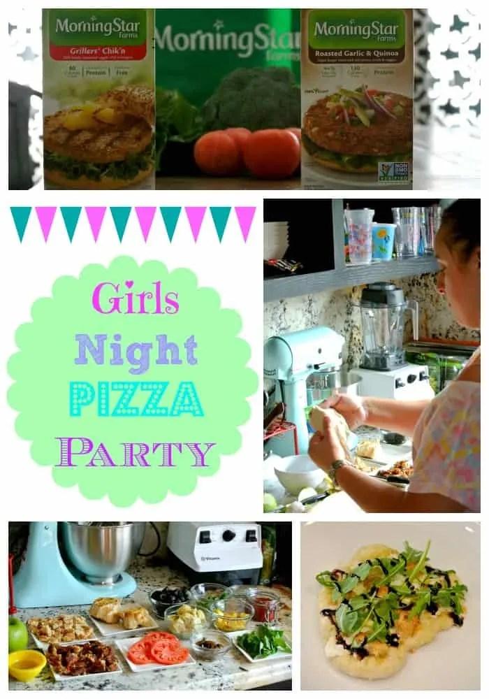 Girls Night Collage