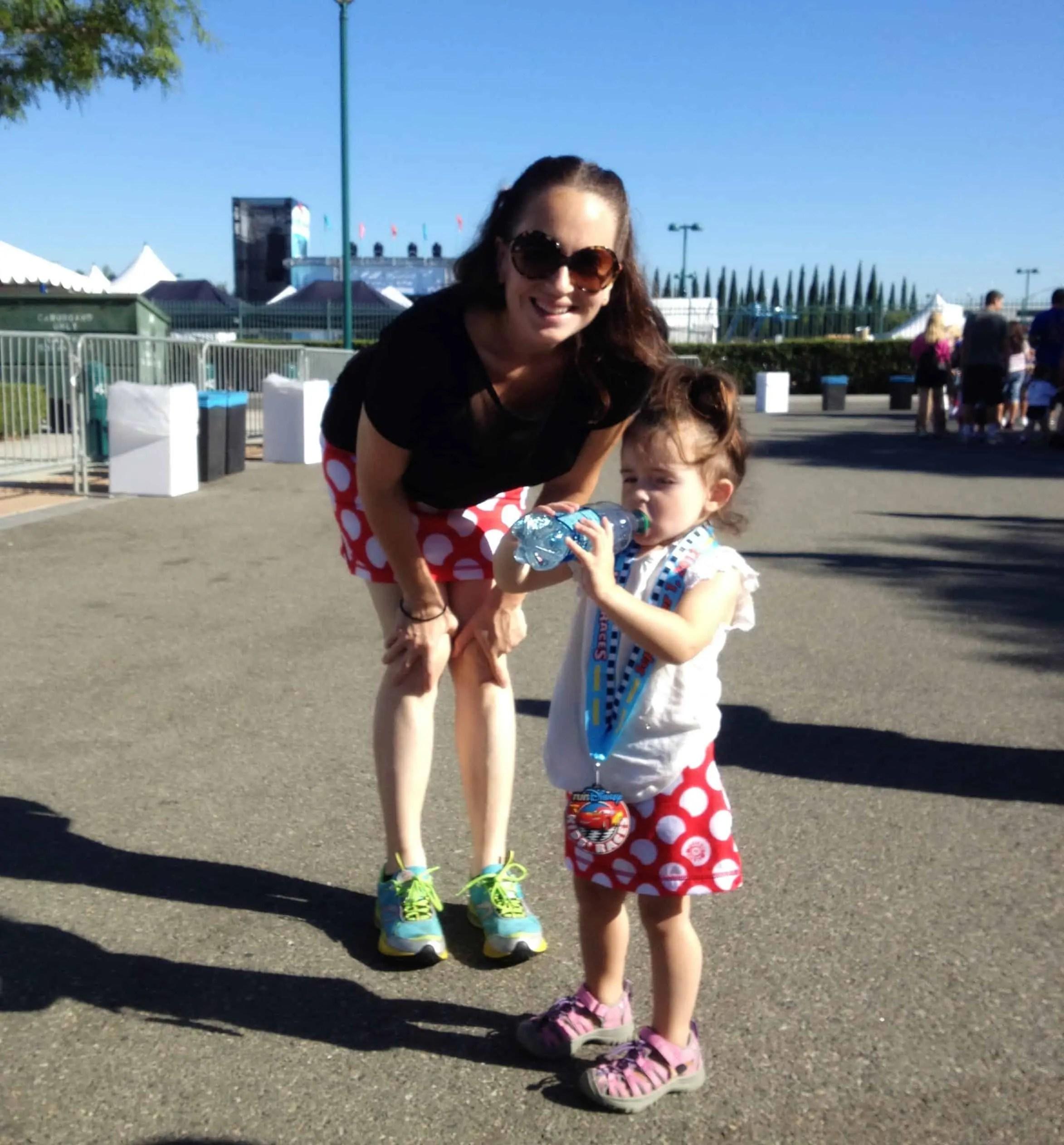 Kids race minnie skirts