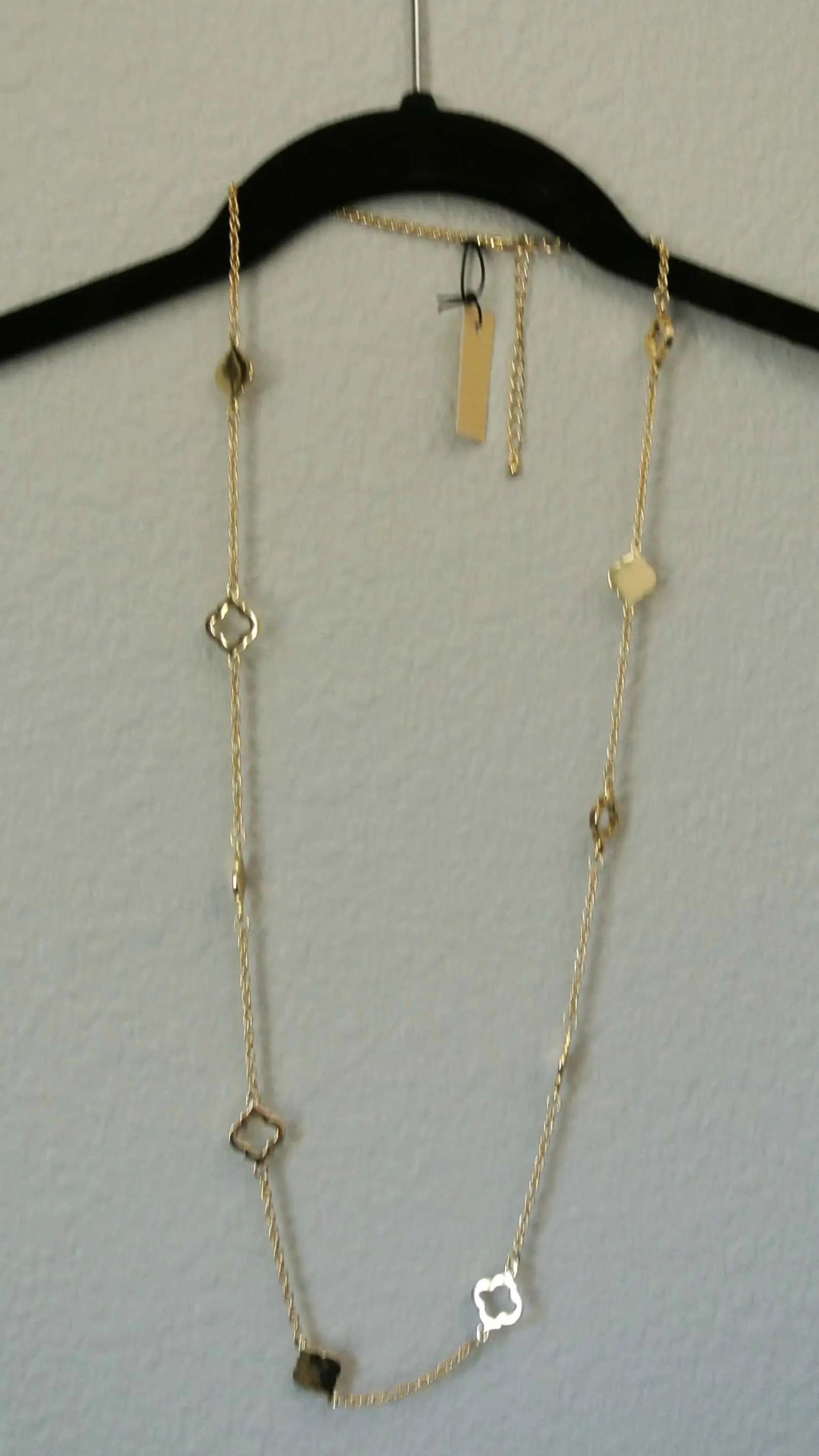 Pixley Kaitlan Spade Necklace