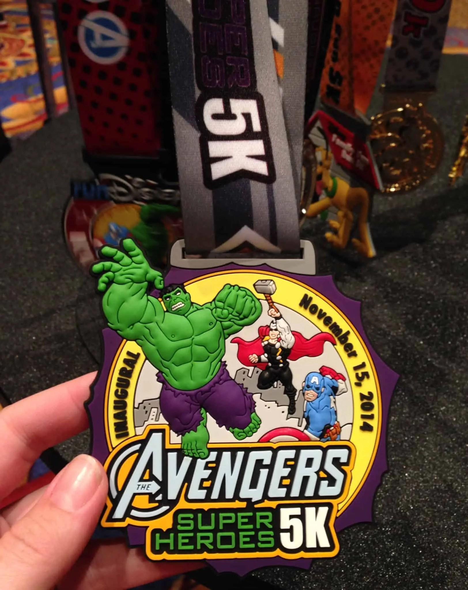 Avengers 5k Medal