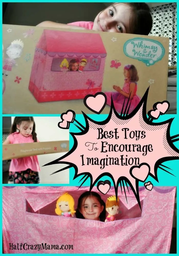Toys that encourage imagination