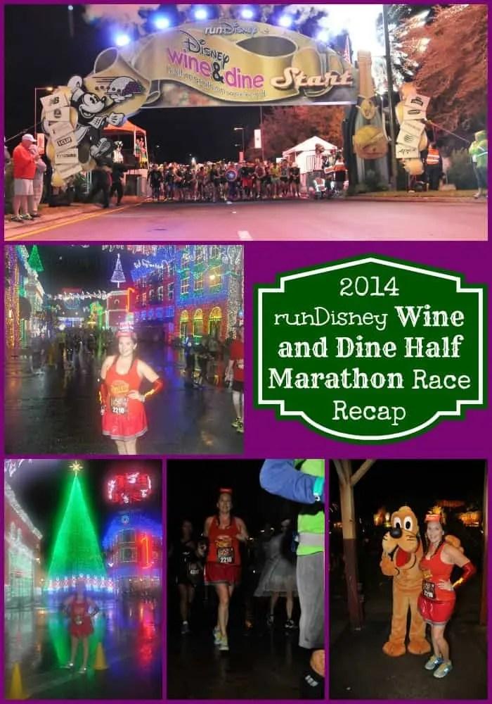 Wine and Dine Half recap