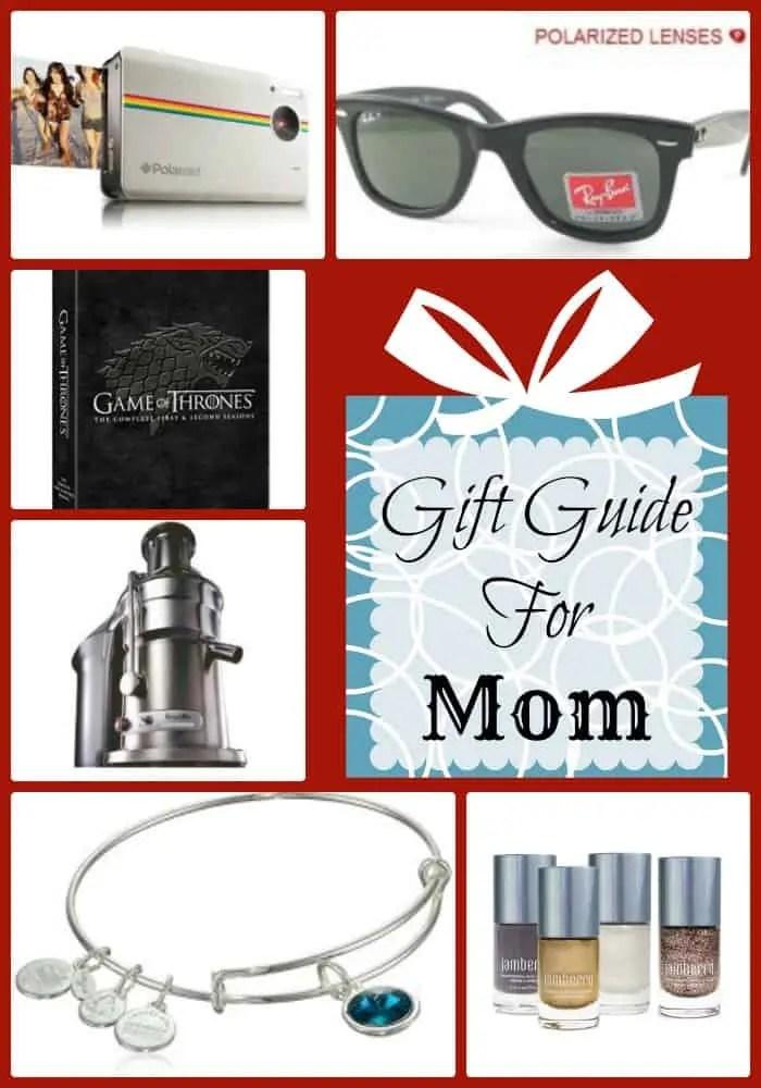 Gift Guide for mom