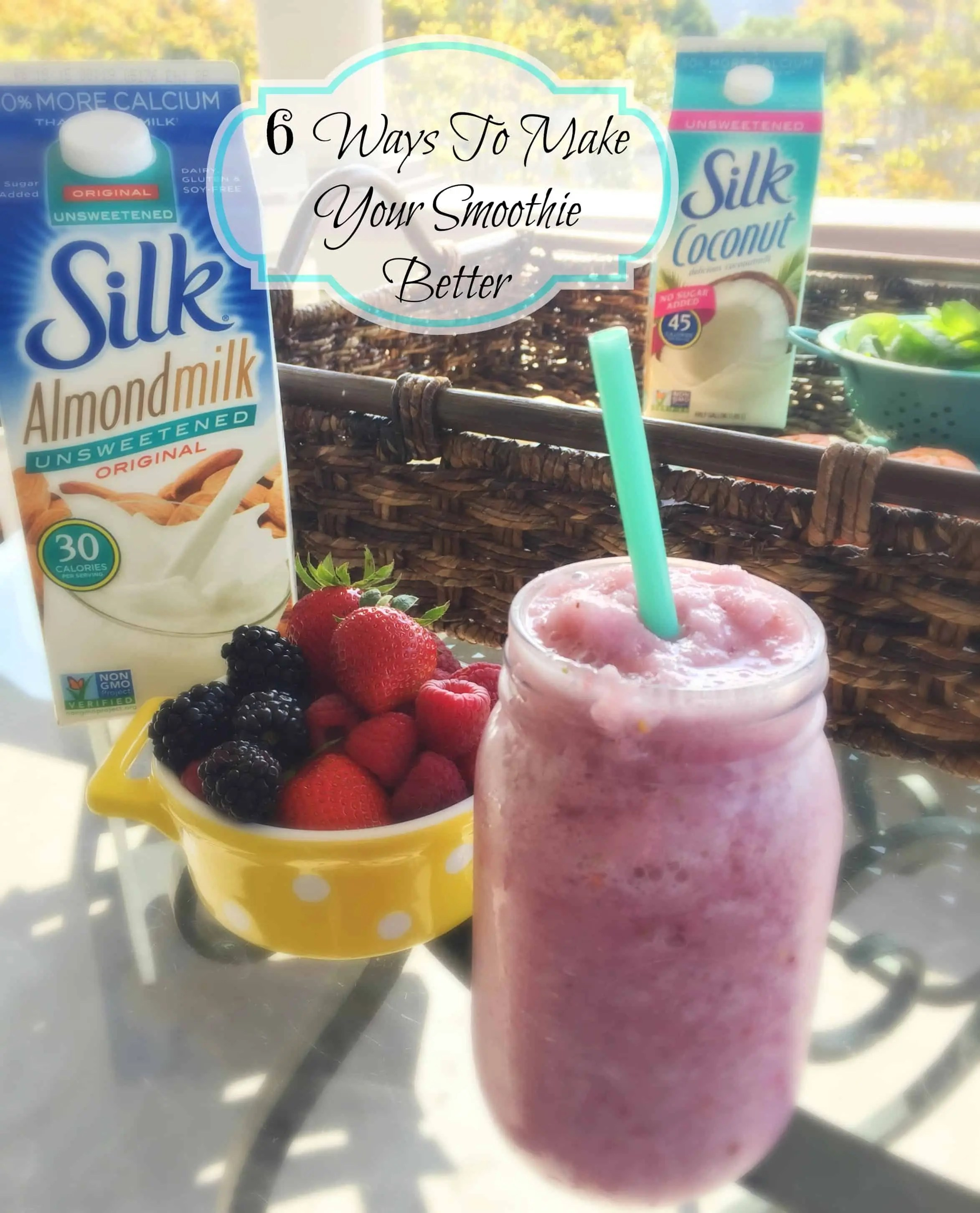 6 ways to make your smoothie better