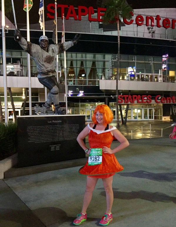 Rock '' Roll Los Angeles Marathon Race Recap