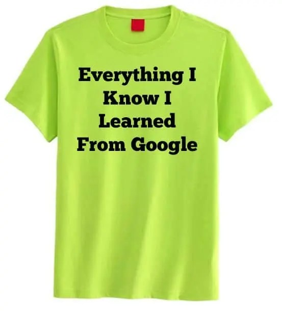 everything_i_know_google_shirt