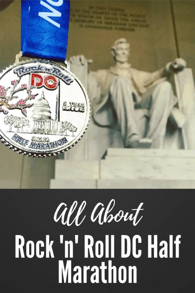 All About Rock n Roll Half marathon DC.| running | marathon training | rocknroll marathon series | run DC | run