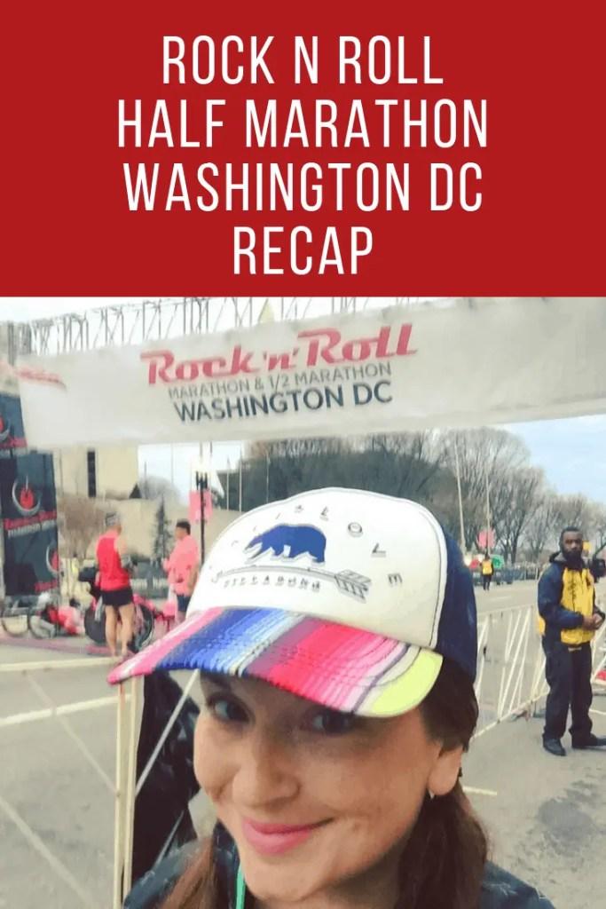 Rock n Roll Washington DC | half marathon training | running in DC | fitness motivation